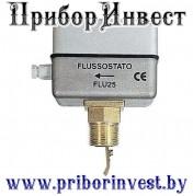 FLU 25 Реле протока (потока) жидкости в металлическом корпусе на трубопроводы ДУ 25-200мм