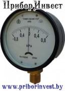 ТмМП-100-М1Р Тягомер мембранный показывающий с радиальным штуцером