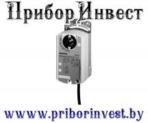 GLB164.1E Привод воздушной заслонки поворотного типа 24 В / DC 0…35 В настраиваемый, 10 Нм, 150 с, 2 переключателя