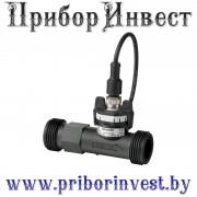 QVE2100.010   QVE2100.015   QVE2100.020   QVE2100.025 Датчик потока для жидкостей с выходным сигналом 4-20мА из армированного стекловолокном пластика