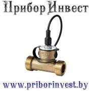 QVE3000.010 | QVE3000.015 | QVE3000.020 | QVE3000.025 Датчик потока для жидкостей с выходным сигналом 0-10В из бронзы
