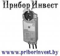 GCA166.1E Привод воздушной заслонки поворотного типа AC/DC 24 В / DC 0...10 В, 18 Нм, пружинный возврат 90/15 с, 2 переключателя, потенциометр