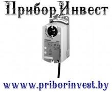 GDB136.1E Привод воздушной заслонки поворотного типа 3-точечное регулирование, 24 В, 5 Нм, 150 с, 2 переключателя