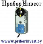 GAP196.1E Роторный привод воздушной заслонкии, AC/DC 24 V, 6 Нм, DC 0(2)...10 V / 0(4)...20 мА, с электронной функцией защиты от отказов, 2 переключателя